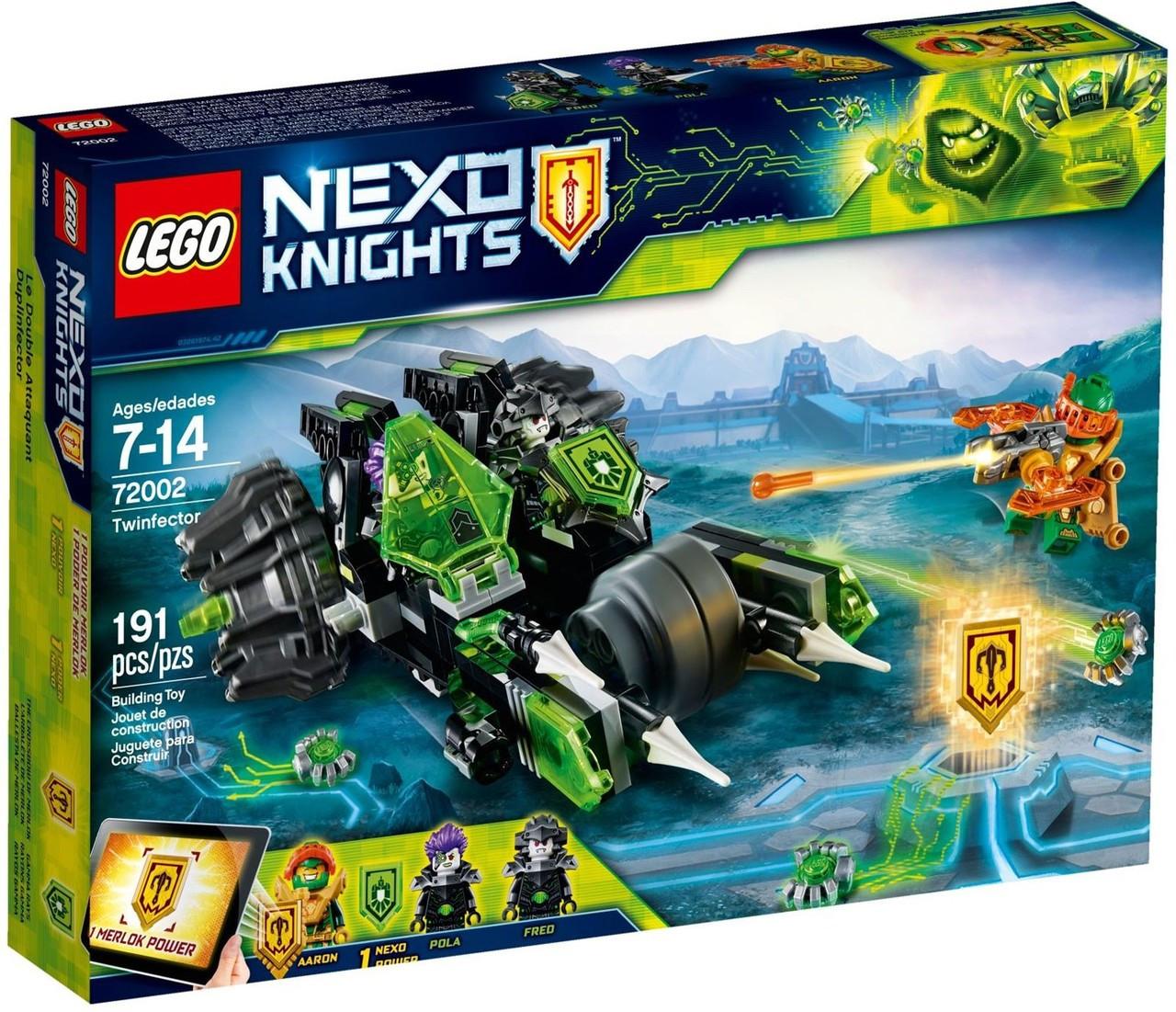 Lego Nexo Twinfector Twinfector Set72002 Lego Lego Set72002 Knights Knights Nexo Nexo Knights CBtsxdhQr