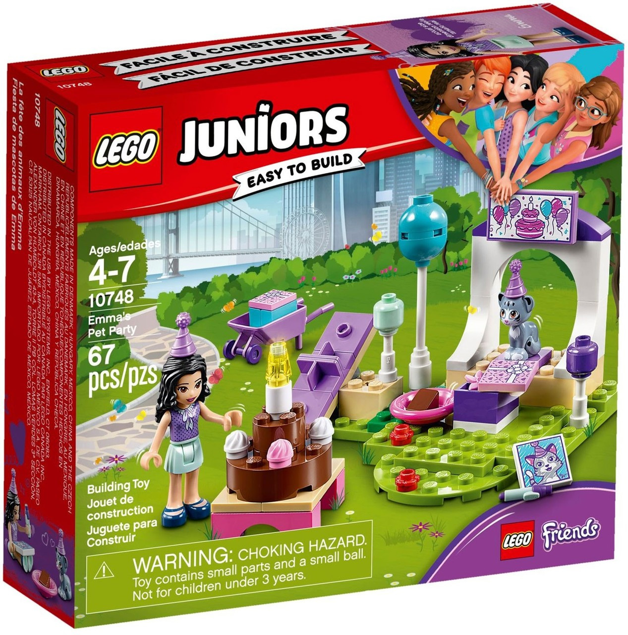 Lego Juniors Friends Emmas Pet Party Set 10748 Toywiz