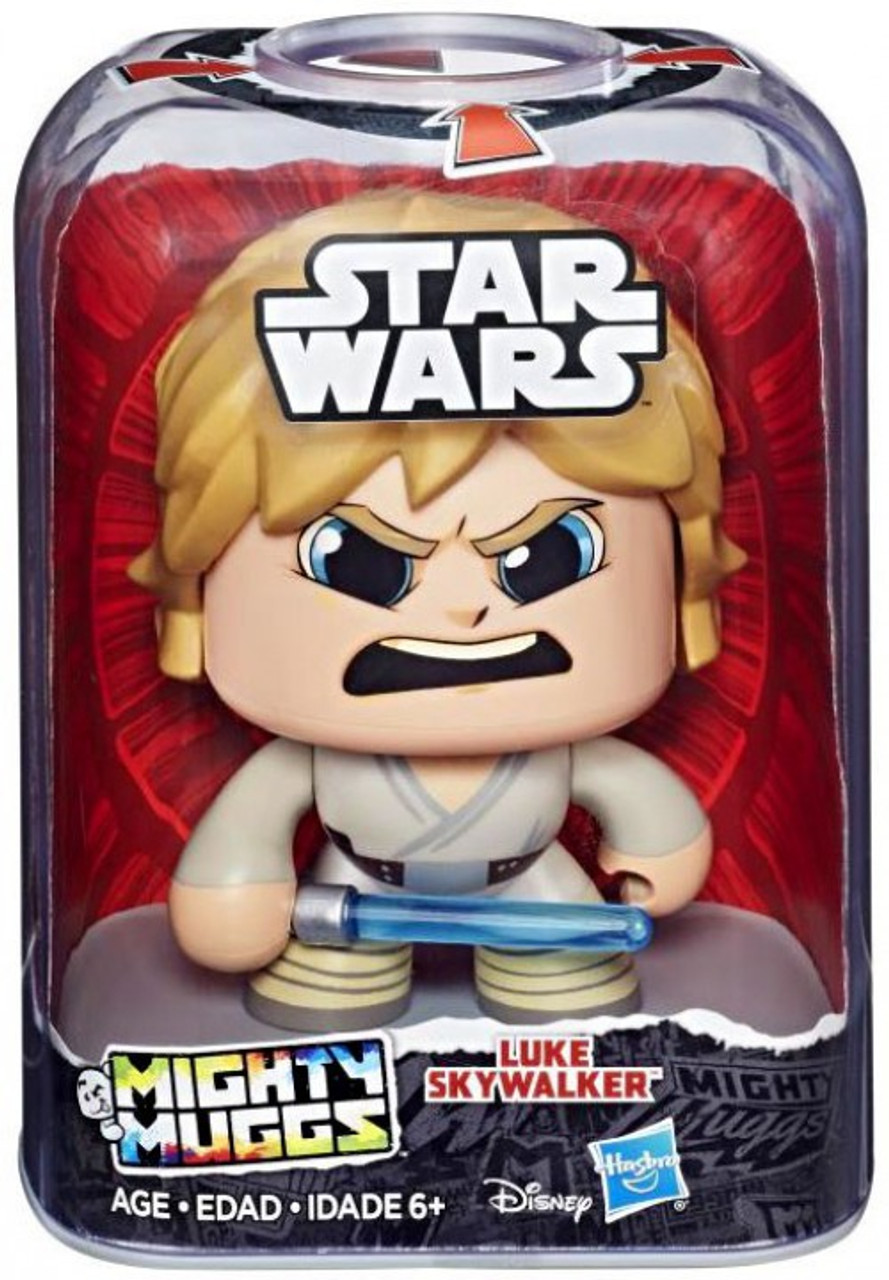 Mighty Muggs ~ Luke Skywalker Figure ~ Hasbro Star Wars