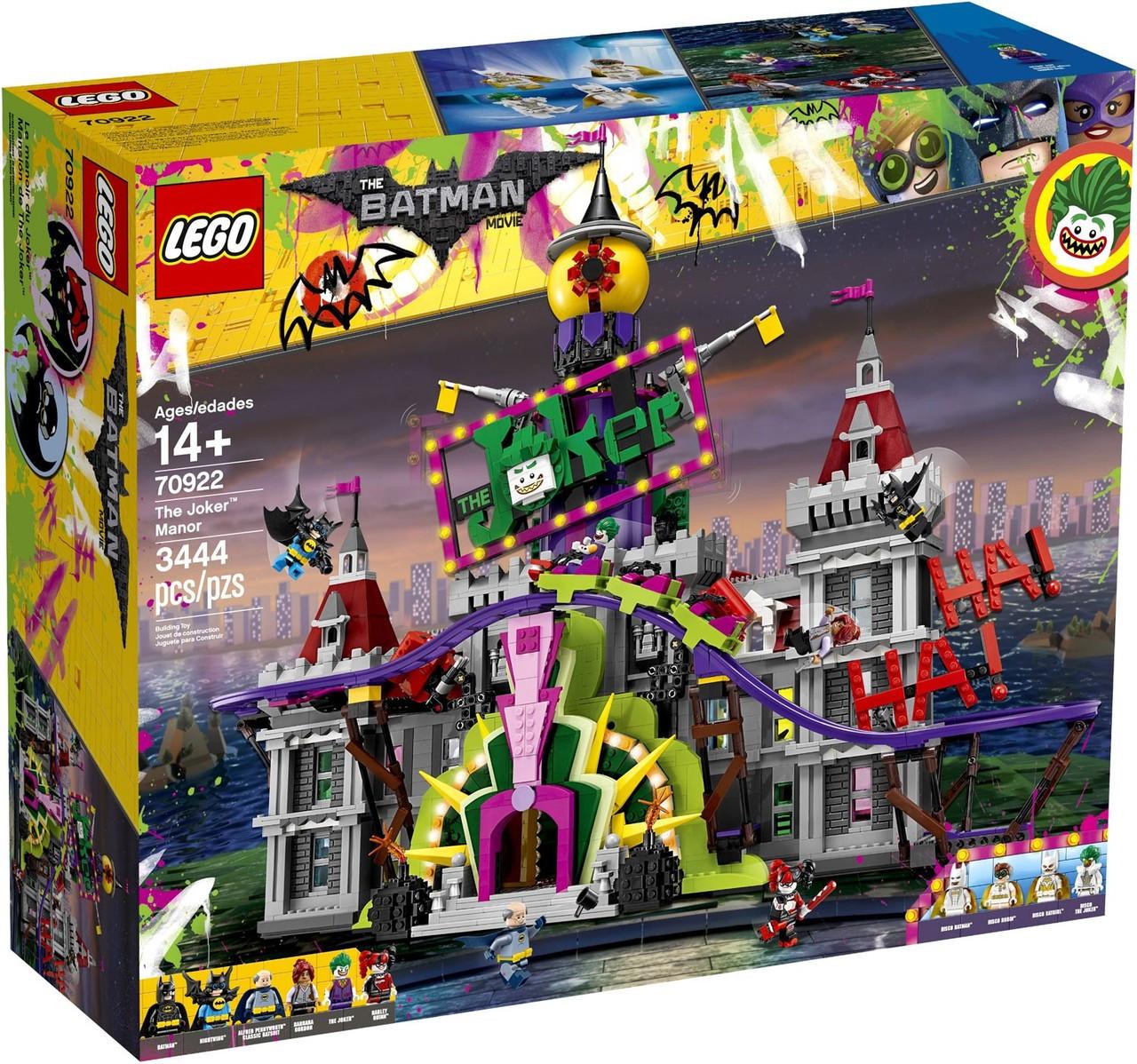 Lego Dc The Batman Movie The Joker Manor Set 70922 Toywiz