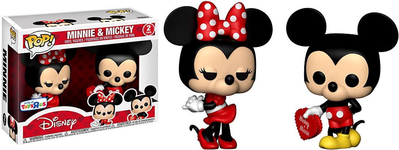 Funko Disney Pop Disney Minnie Mickey Exclusive Mini Figure 2 Pack
