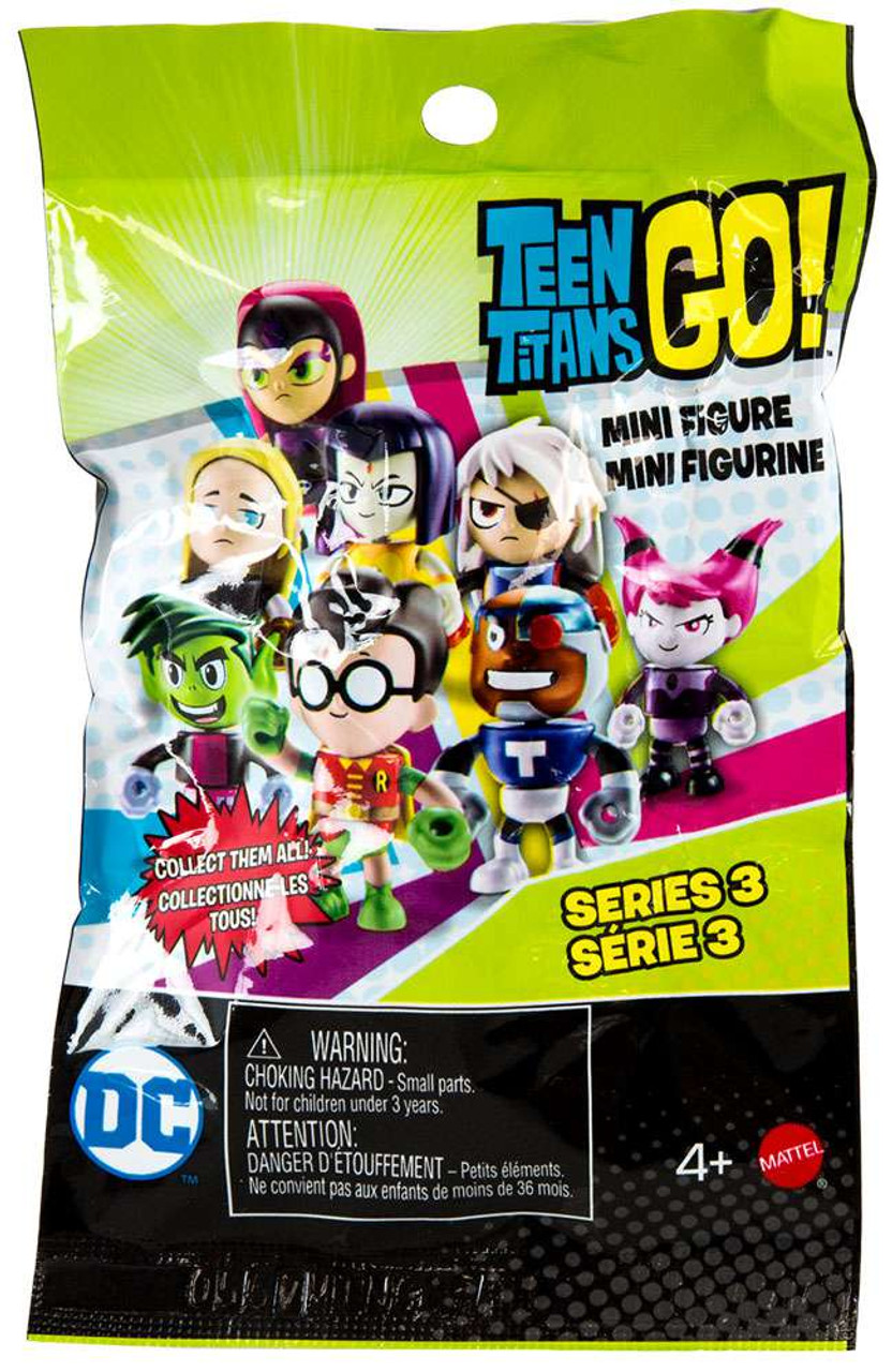 Teen titans mini figures