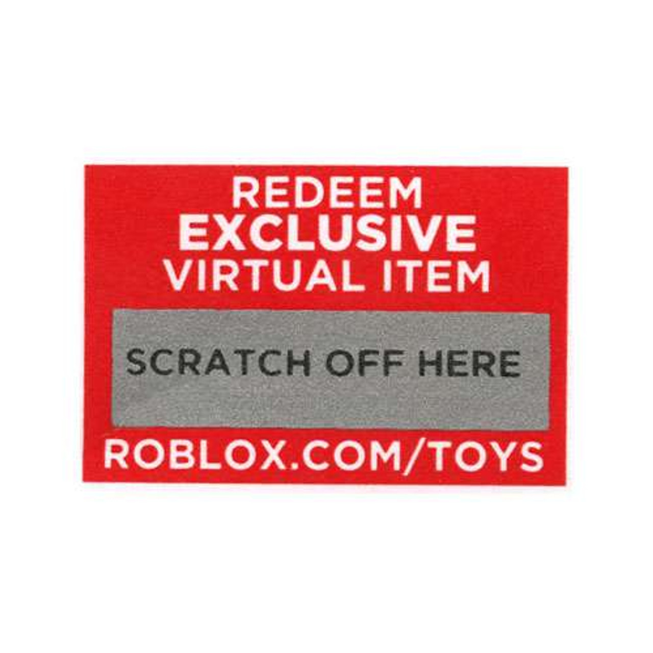 Roblox Redeem 1 Musical Virtual Item Online Code Jazwares Toywiz