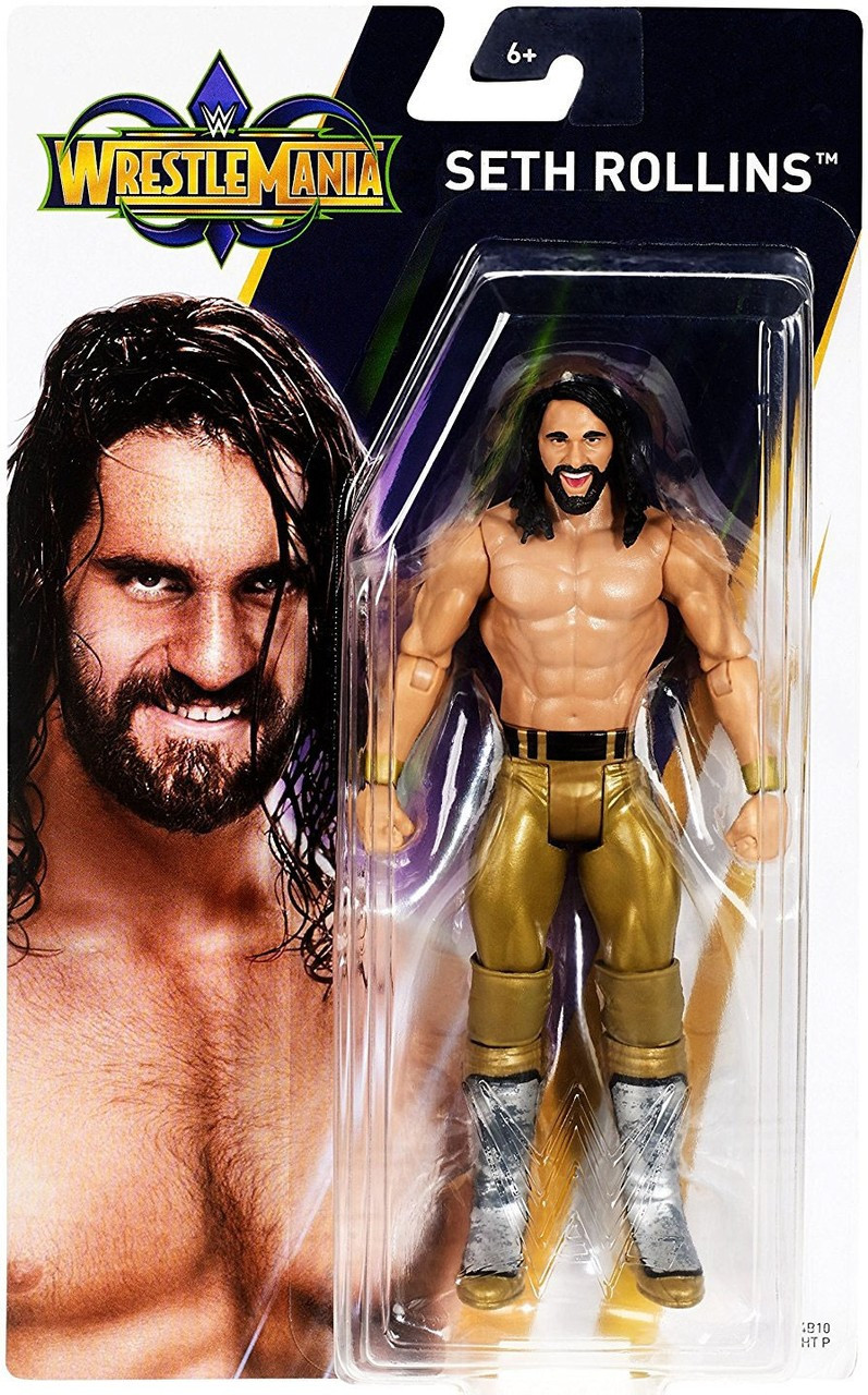 Sealed Brand New Basic Wrestlemania 34 Mattel WWE Figures