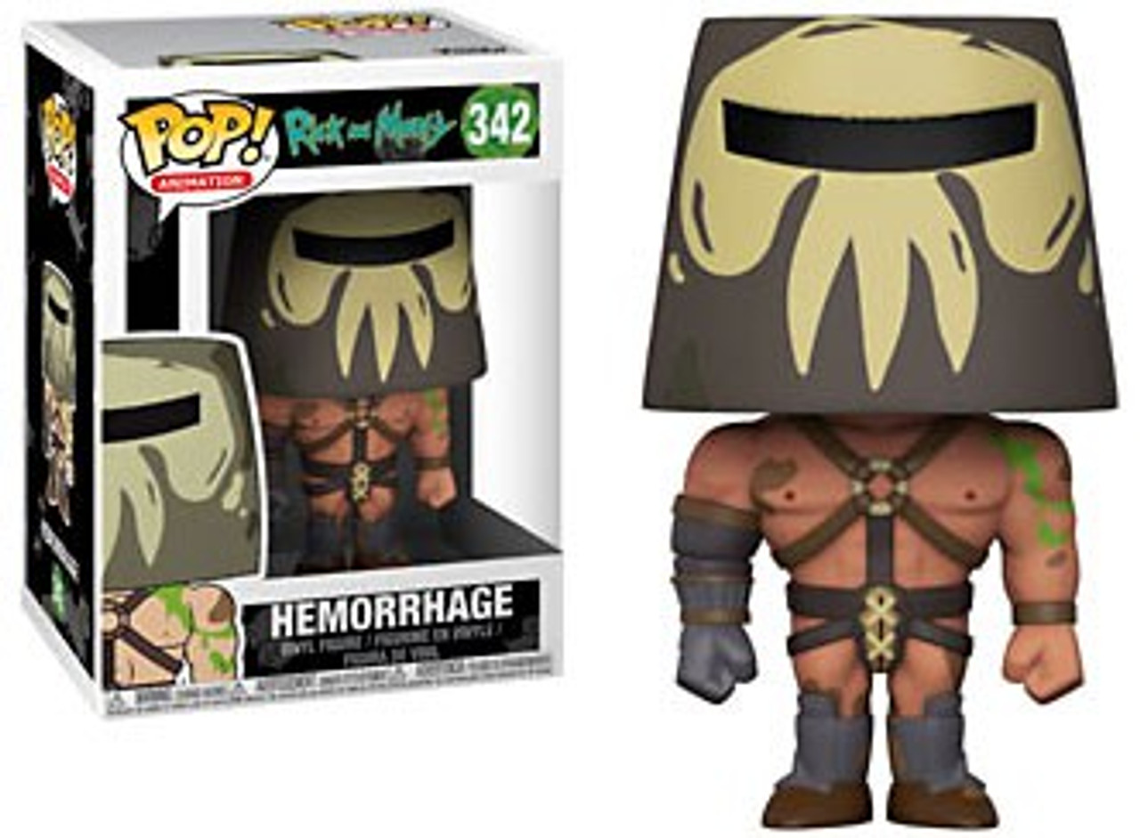 2018, Toy NEU Funko Pop Hemorrhage Animation: Rick /& Morty