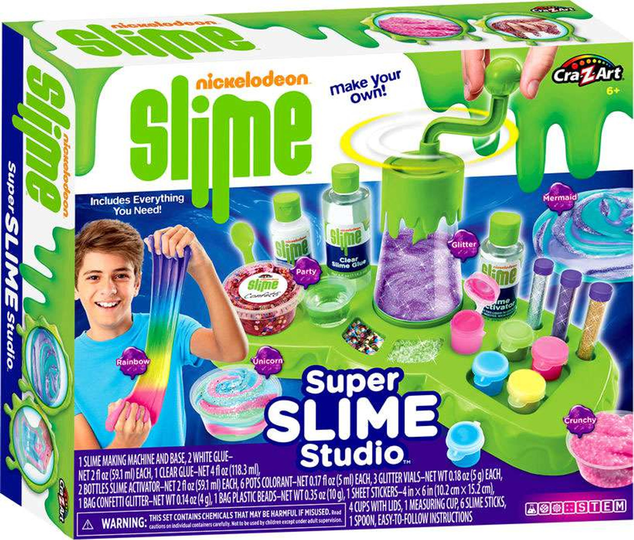 Nickelodeon Super Slime Studio Kit Damaged Package