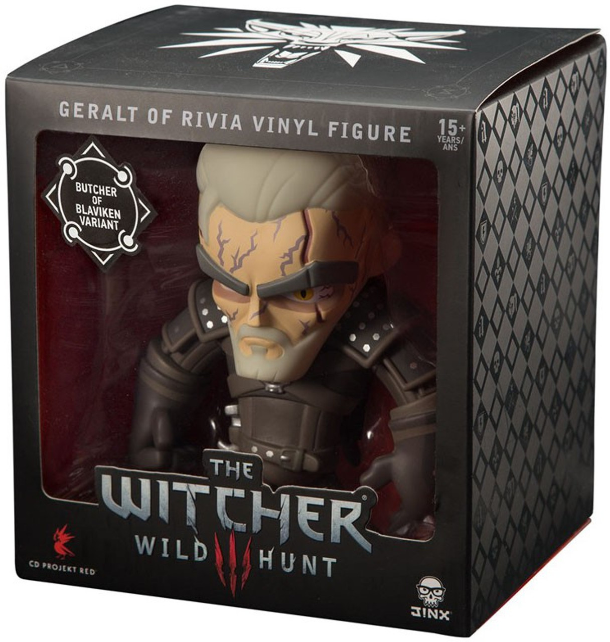 """The Witcher Wild Hunt 3 PVC 9.5/"""" Action Figure Geralt of Rivia Collector Edition"""