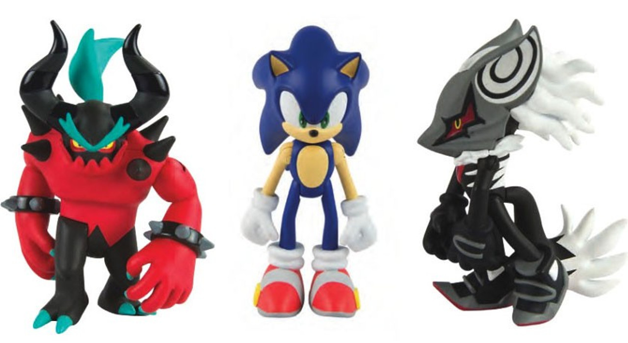 Sonic The Hedgehog Infinite Zavok Sonic 3 Action Figure 3 Pack Tomy Inc Toywiz