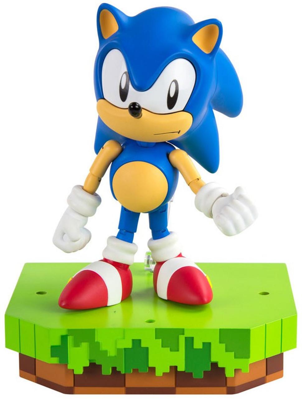 Sonic The Hedgehog Classic Sonic Collector 5 5 Figure Tomy Inc Toywiz