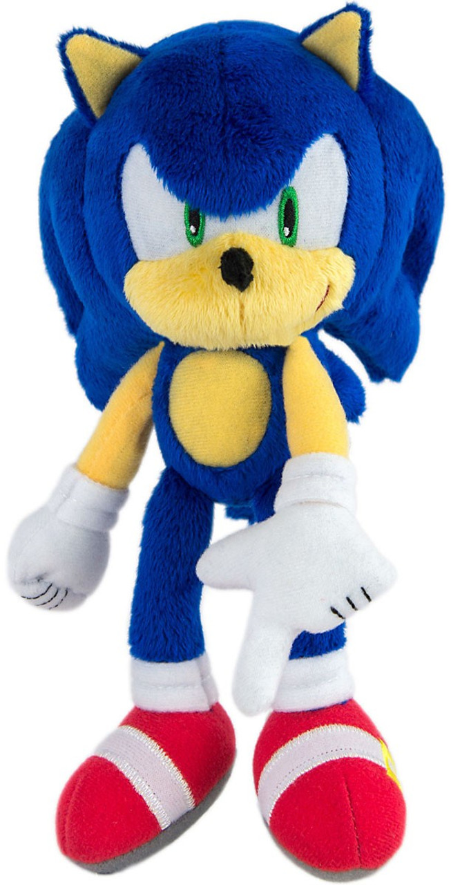 Sonic The Hedgehog Sonic 8 Plush Modern Tomy Inc Toywiz