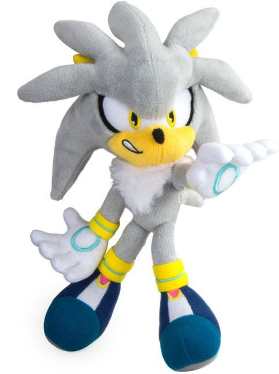 8 Inch Plush Toy Modern Sonic Finger Points Right Sonic the Hedgehog
