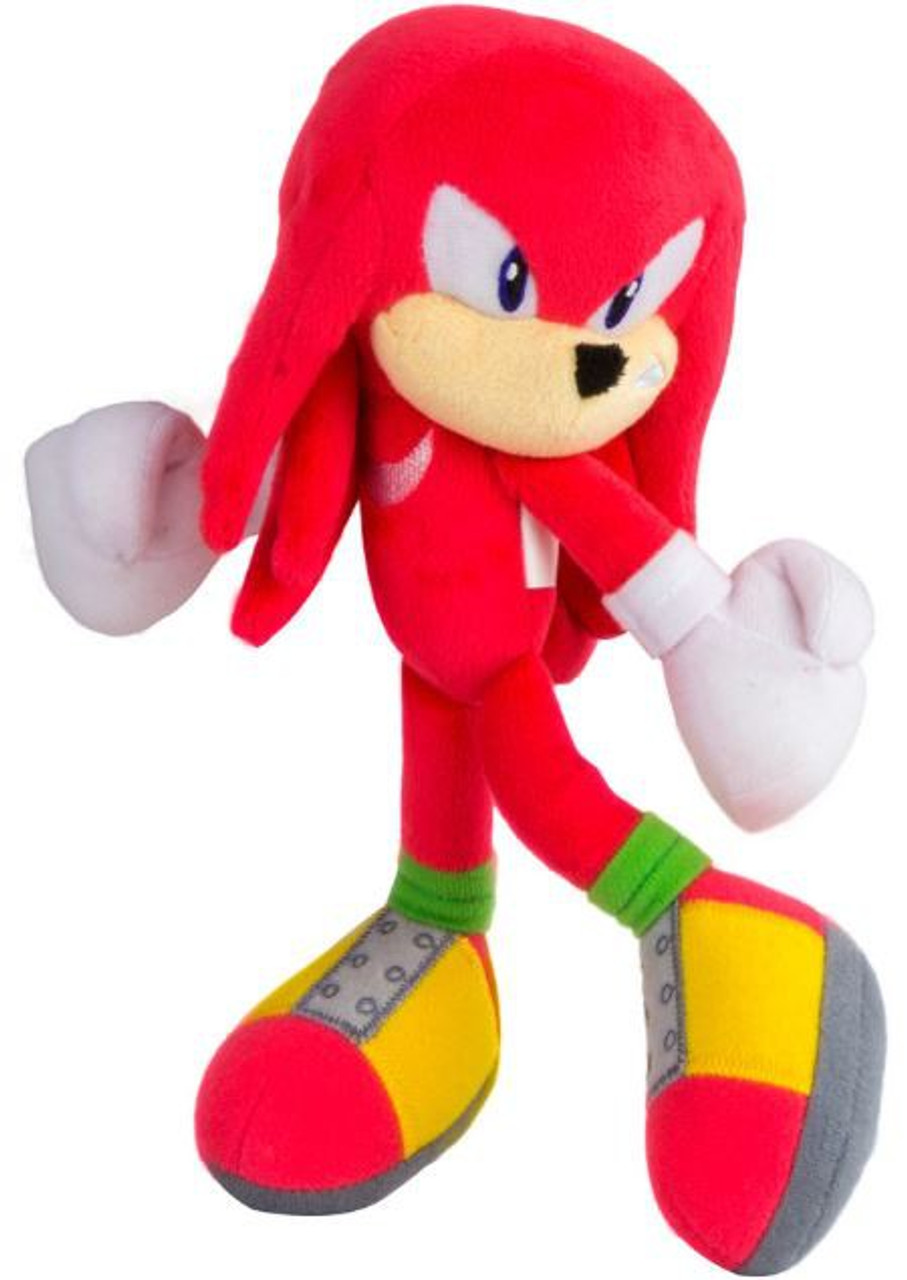 Sonic The Hedgehog Knuckles 8 Plush Modern Tomy Inc Toywiz
