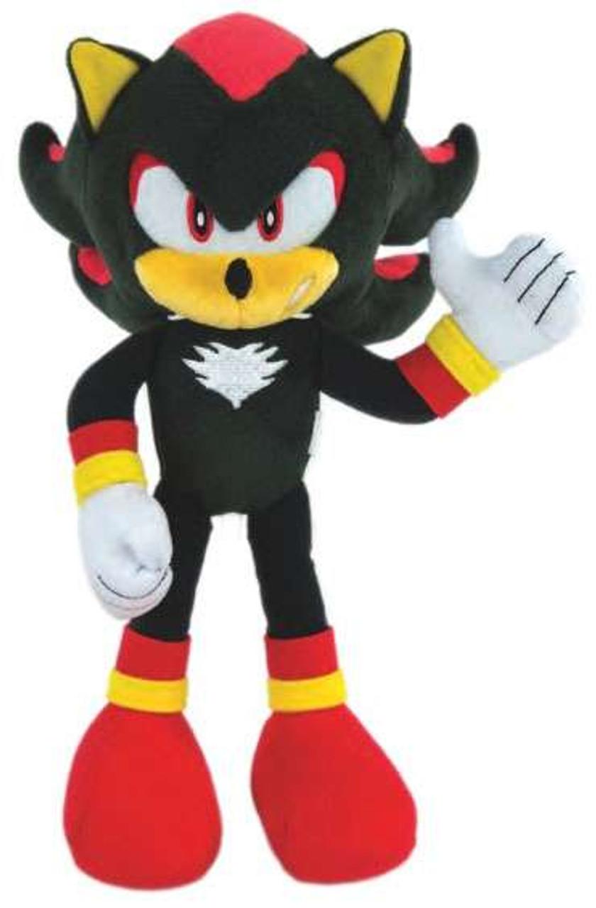 Sonic The Hedgehog Shadow 12 Deluxe Plush Modern Tomy Inc Toywiz