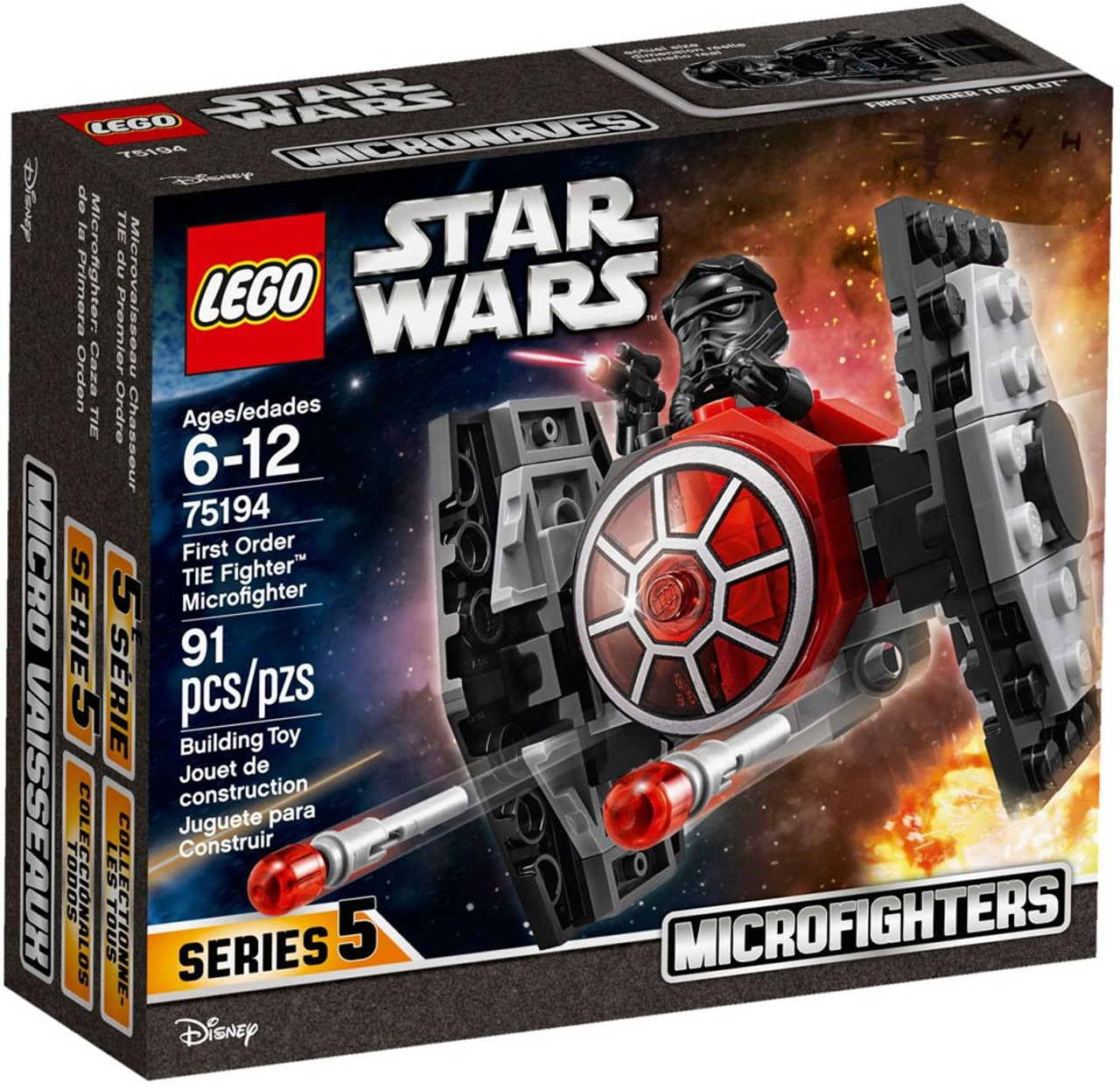 lego star wars microfighters series 5 first order tie