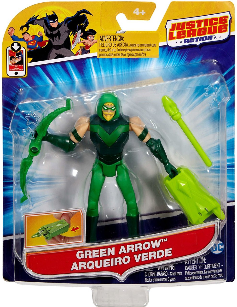 Justice League Green Arrow Action Figure