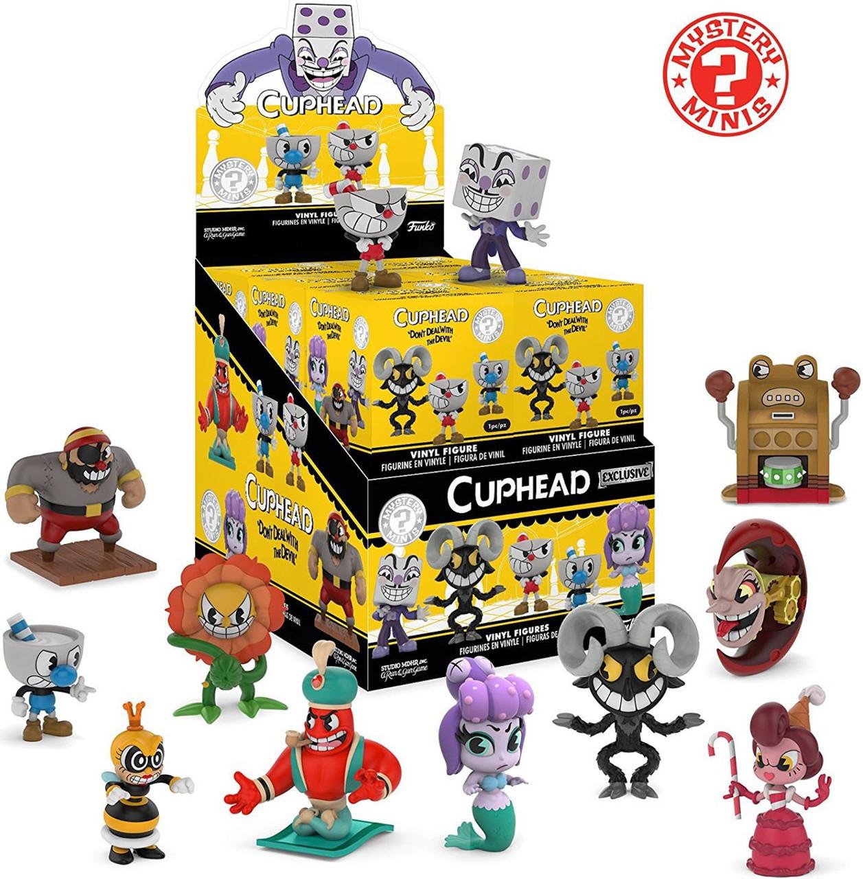 Funko Cuphead Mystery Minis Cuphead Mystery Box 12 Packs