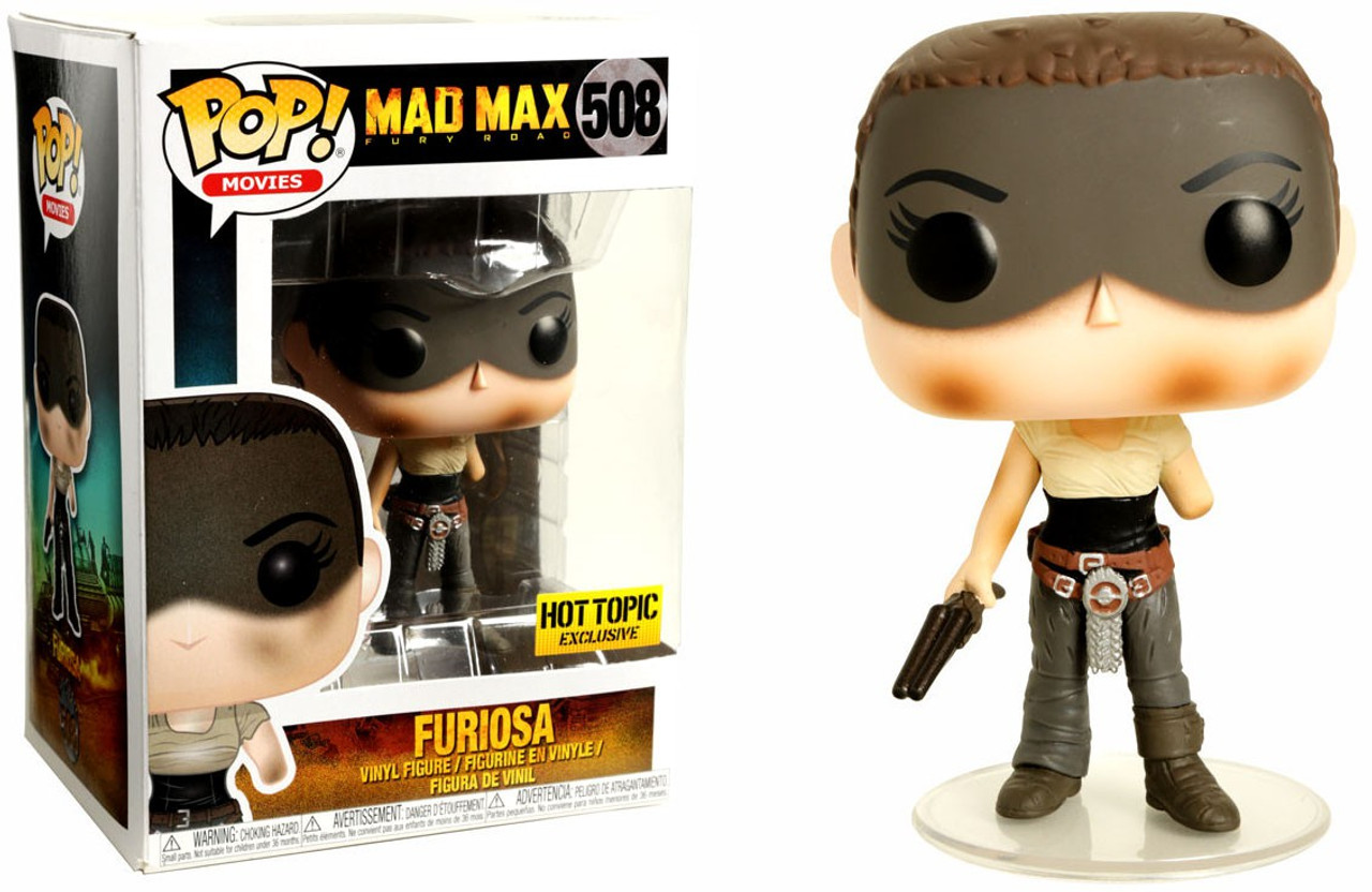 Funko Pop Vinyle Mad Max Fury Road Chase Imperator FURIOSA #507