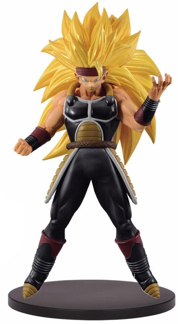 Dragonball Heroes Super Saiyan 3 Vegeta DXF Figure With Card Z Doll Statue F//S