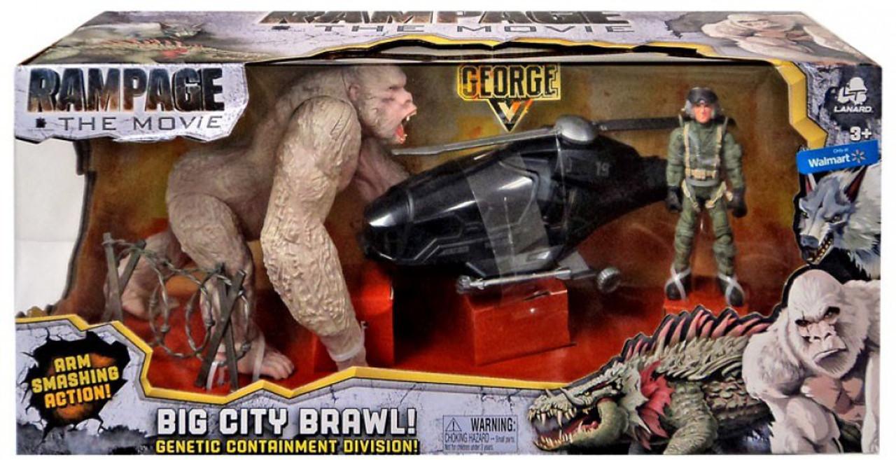 Rampage The Movie Big City Brawl George Exclusive Figure Lanard
