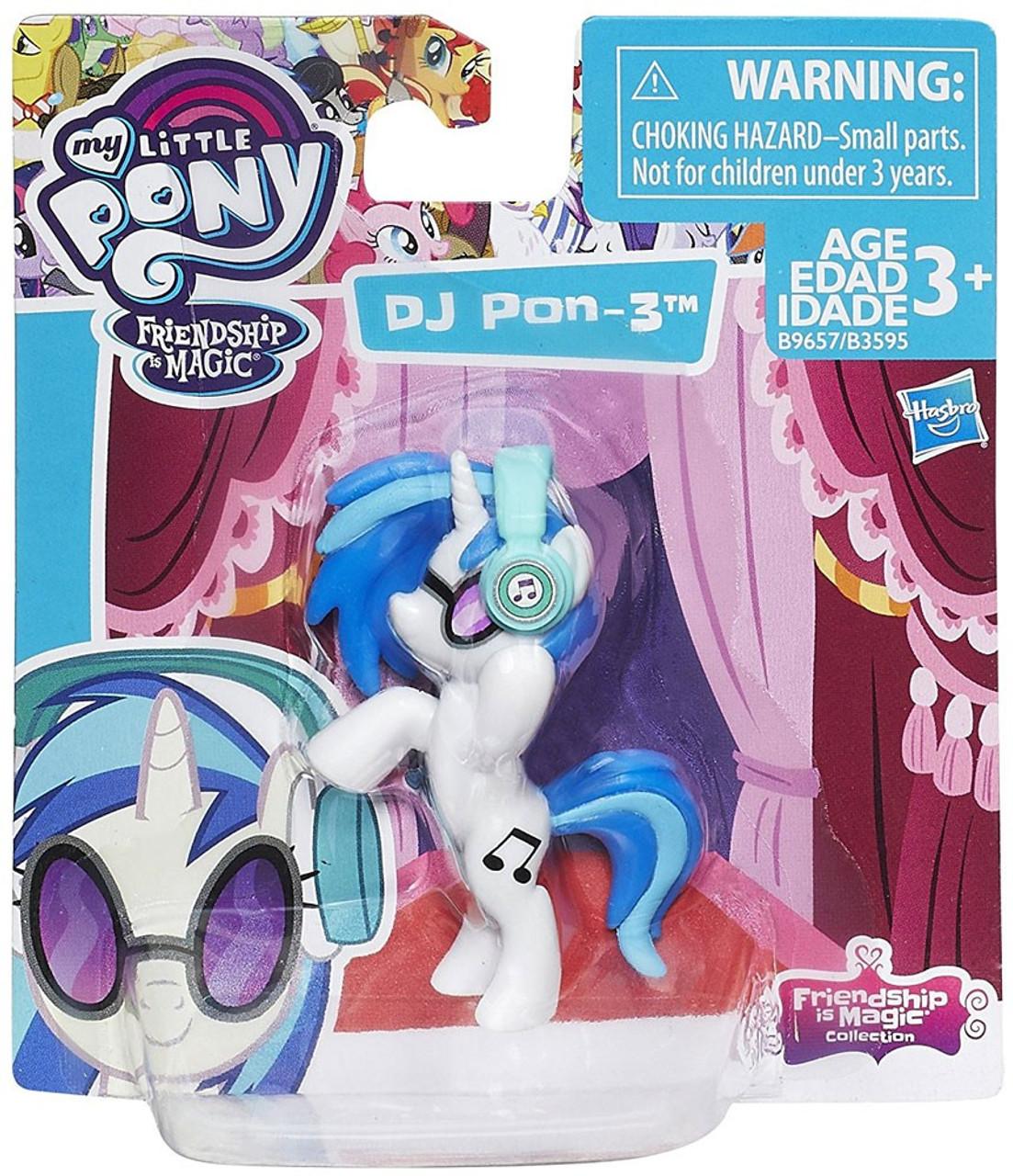 Loose Hasbro My Little Pony Friendship is Magic DJ Pon-3 2-Inch Mini Figure