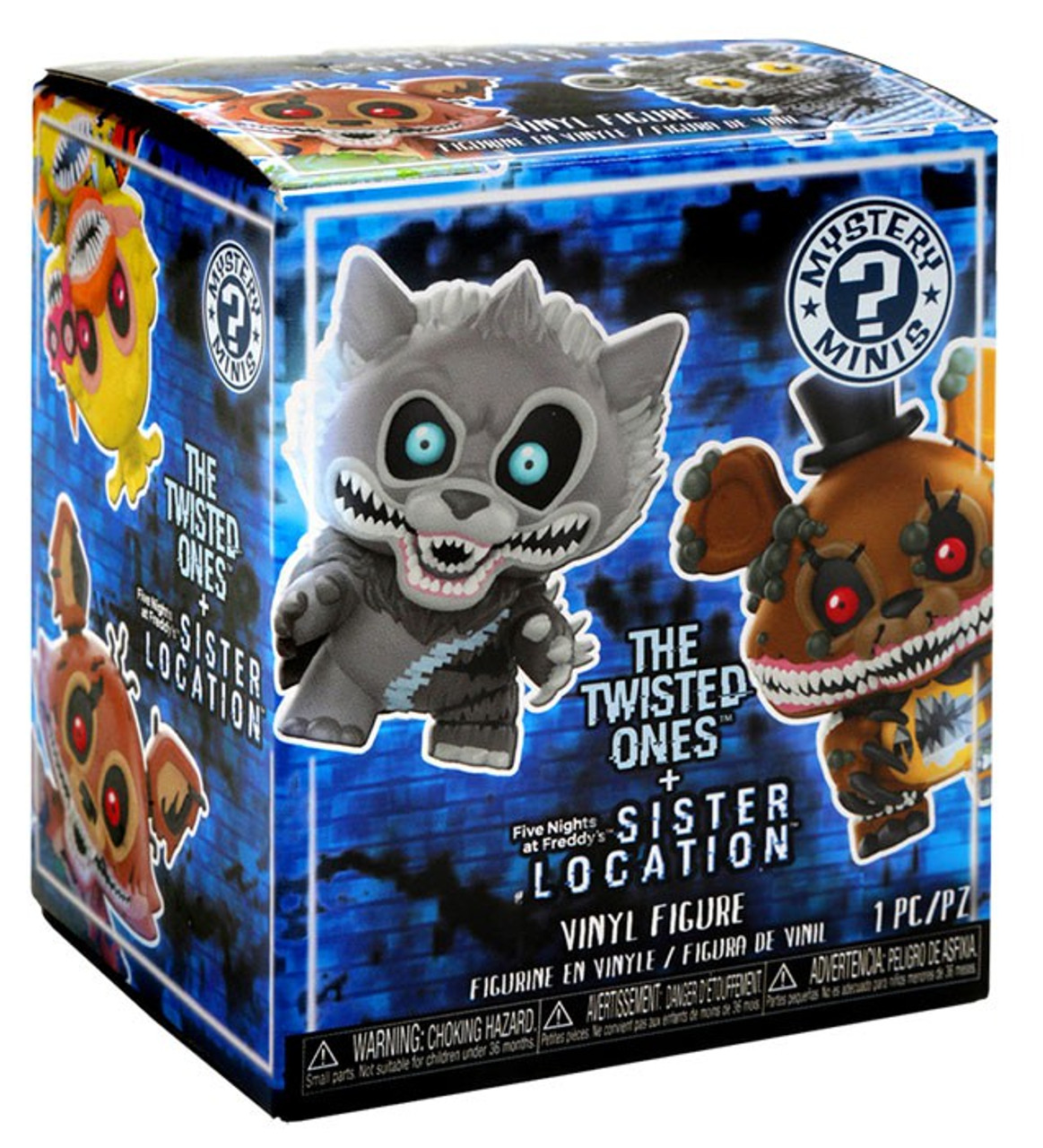 Funko Mystery Minis Five Nights at Freddy/'s Blind Box Figures Sister Location