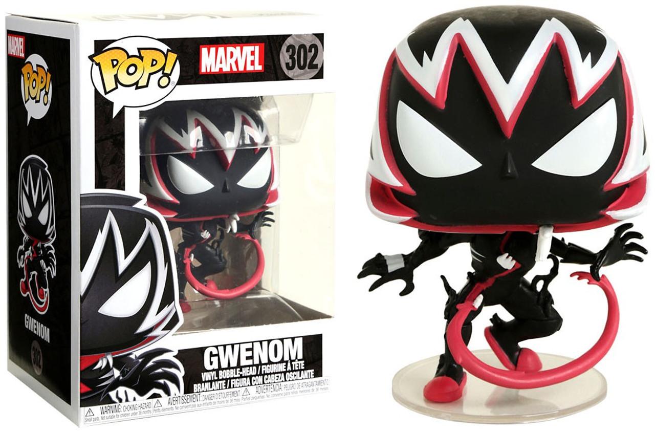 Gwenom Action Pose #302 New In Box Vinyl Collectible Figure Marvel Funko Pop