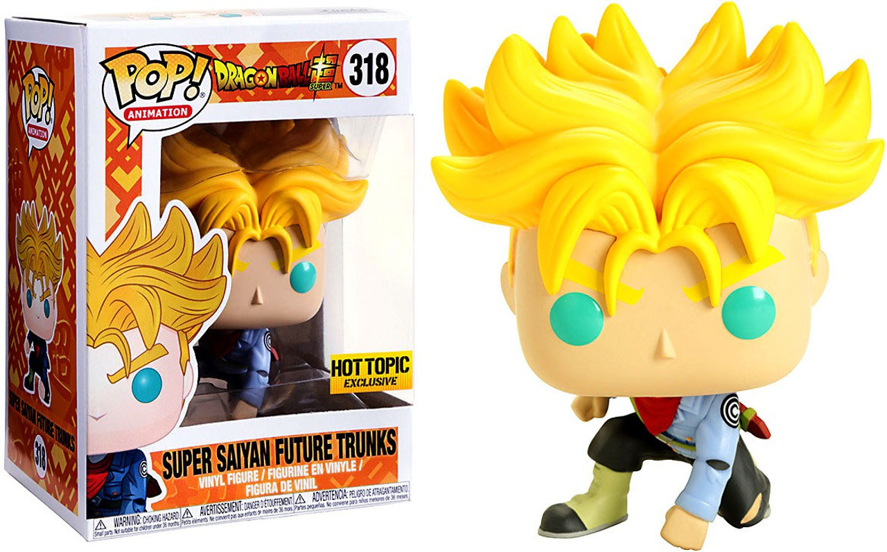 Funko Pop Animation Dragon Ball Z Trunks Vinyl Figure Collectible Toy #107