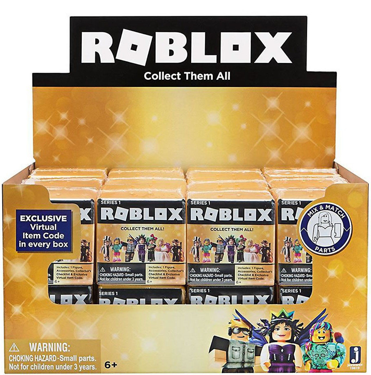 Roblox Celebrity Collection Series 1 Mystery Box Gold 24 Packs