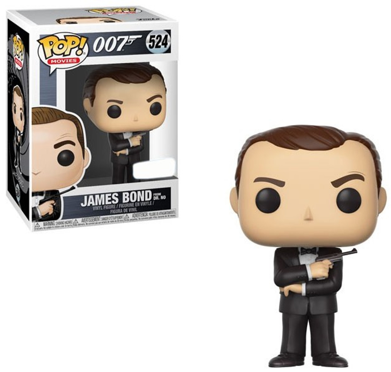 Sammler James Bond 007 Funko Pop Vinyl Figur 518 Sean Connery 9 cm NEU /& OVP