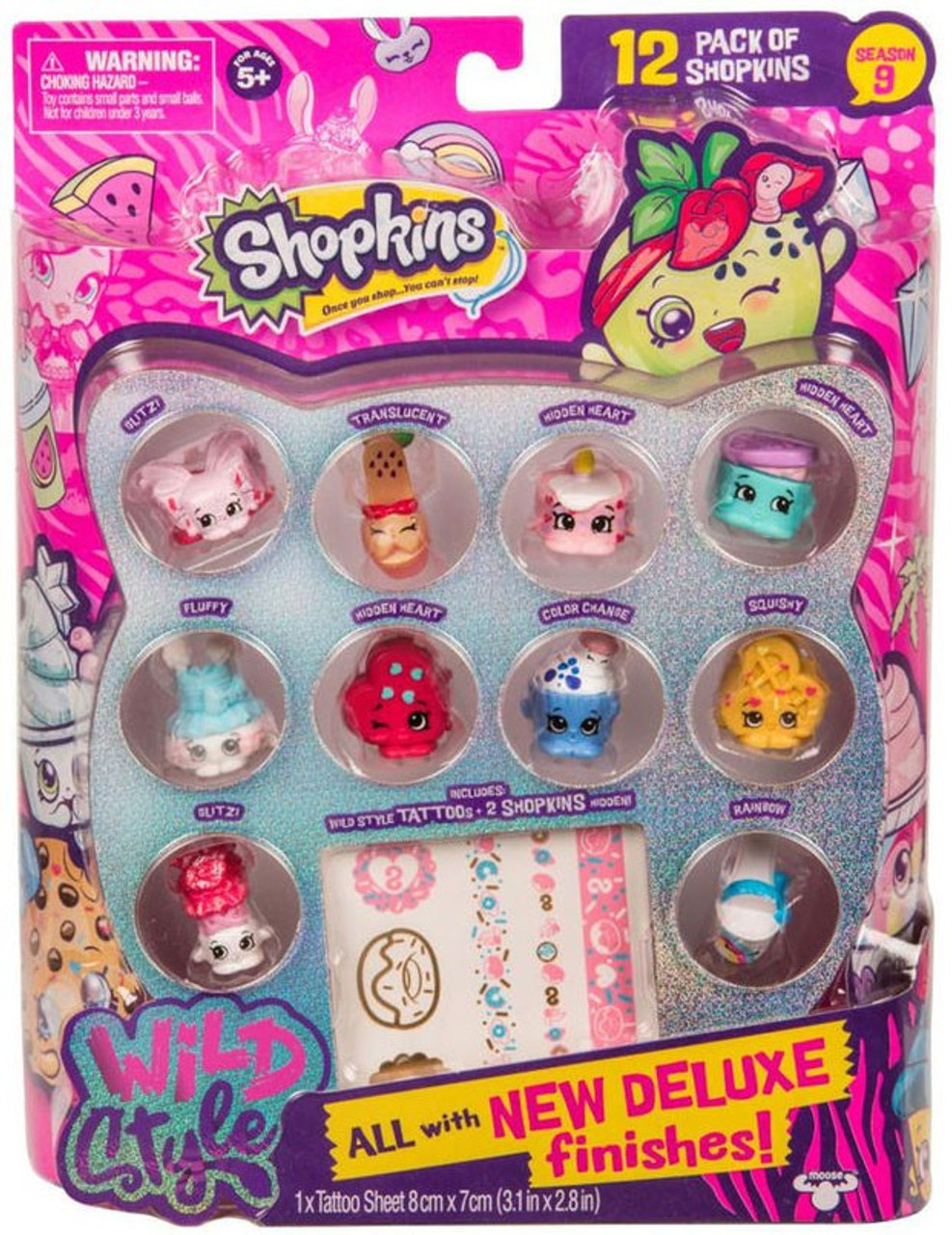 Shopkins Chef Club Deluxe Pack-Juicy smoothie Collection