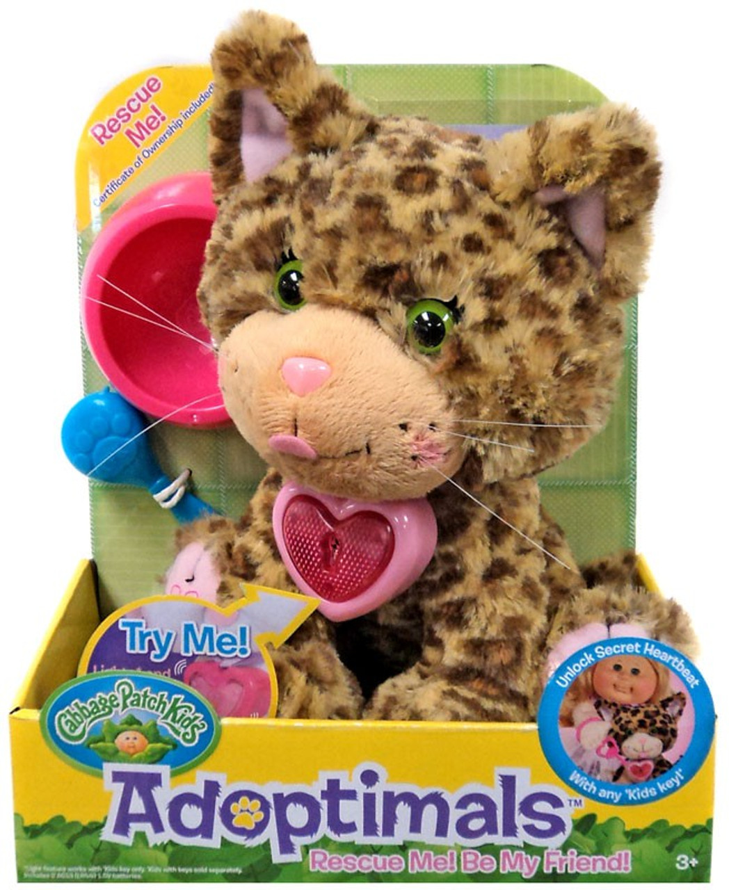Cabbage Patch Kids Adoptimals Bengal Kitty 9 Plush Wicked Cool Toys - ToyWiz