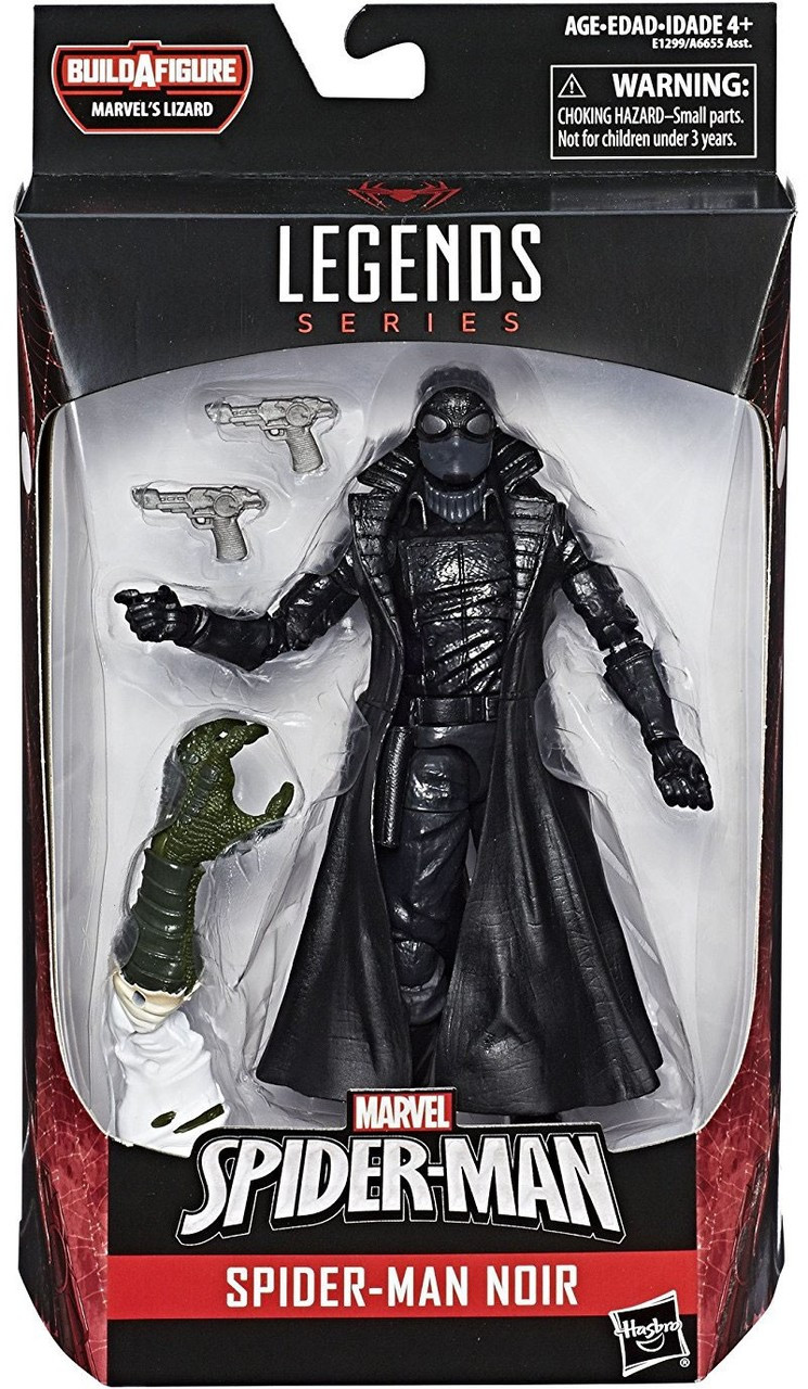 de6191494ae23 Marvel Legends Lizard Series Spider-Man Noir Action Figure