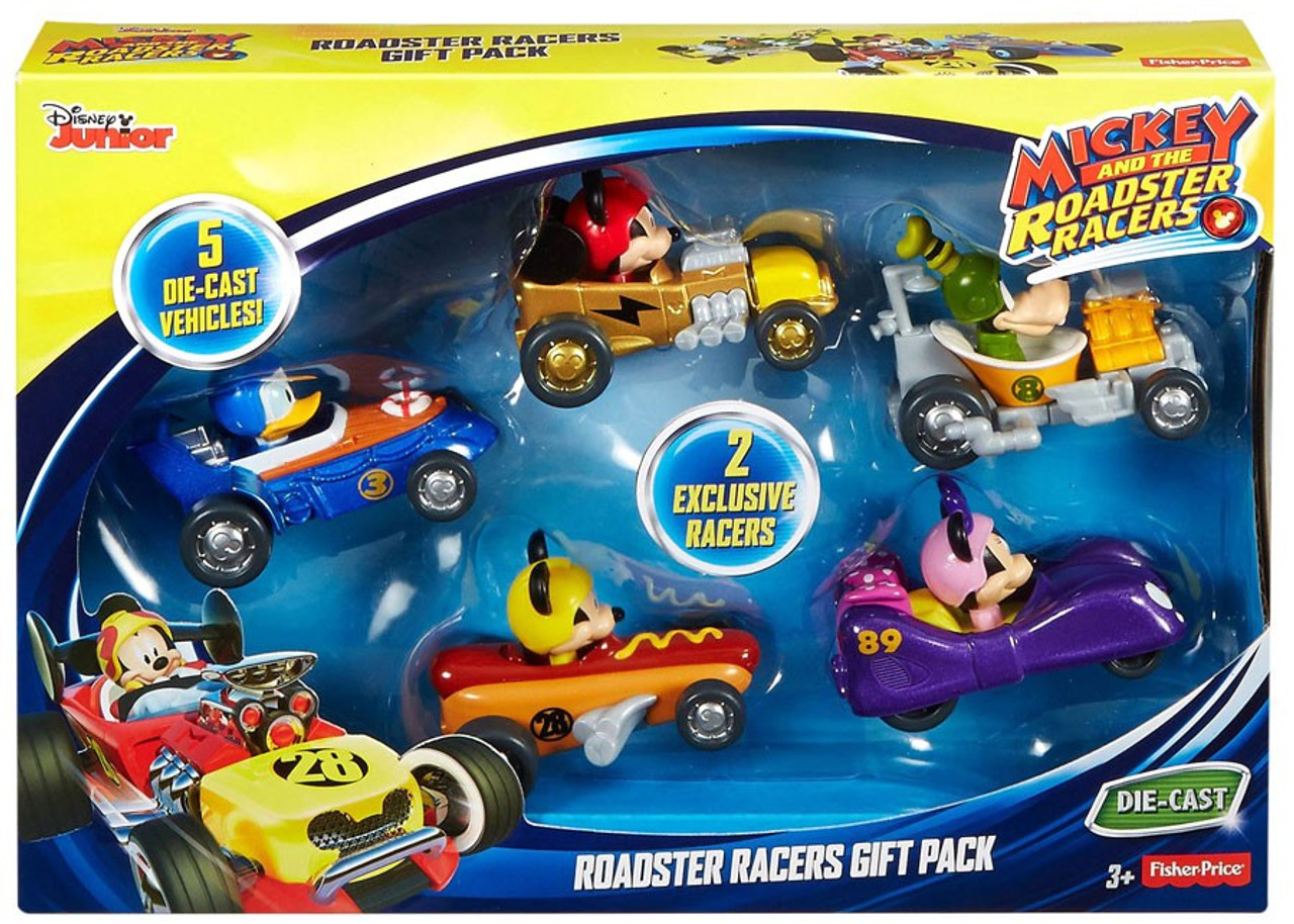 009444b9911e Fisher Price Disney Mickey   Roadster Racers Roadster Racers Gift Pack  Diecast 5-Pack
