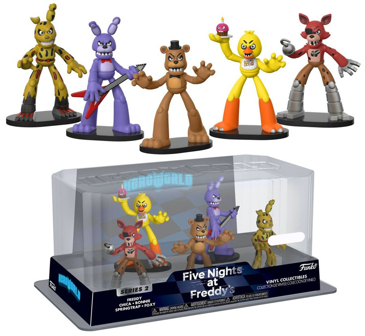 Five Nights At Freddy's Bonnie Animated funko five nights at freddys hero world series 2 freddy