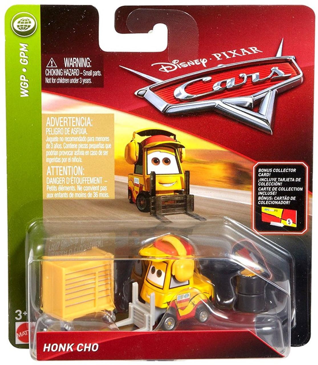 Disney Pixar Cars Cars 3 Wgp Honk Cho 155 Diecast Car Bonus