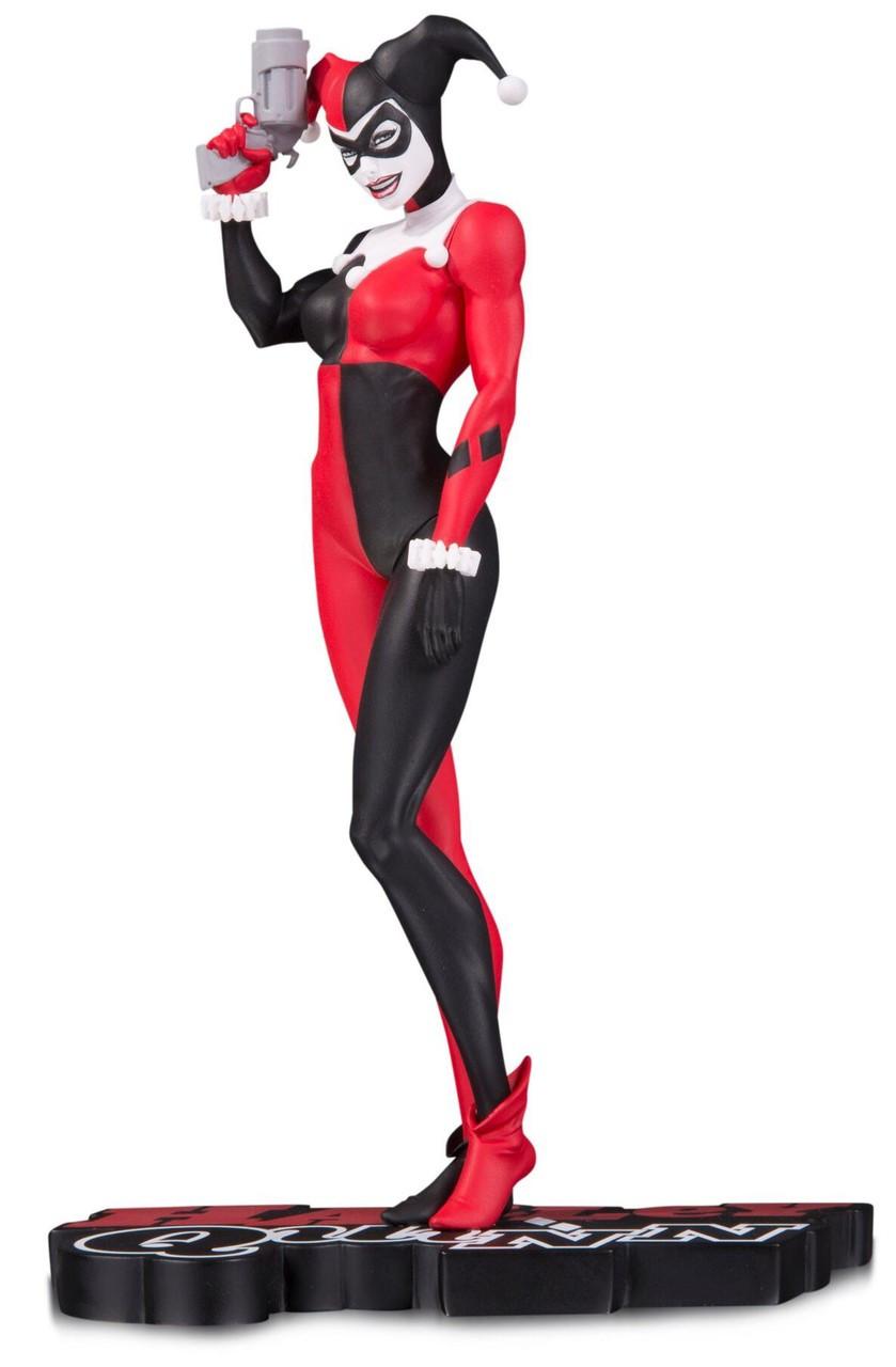 Harley Quinn Red White Black Harley Quinn Philip Tan Statue