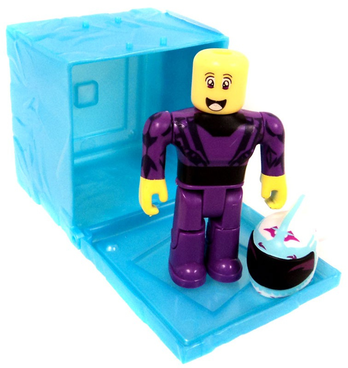Roblox Series 3 Patient Zero Mini Figure Without Code No Packaging - Roblox Red Series 3 Westover Racer Mini Figure Blue Cube