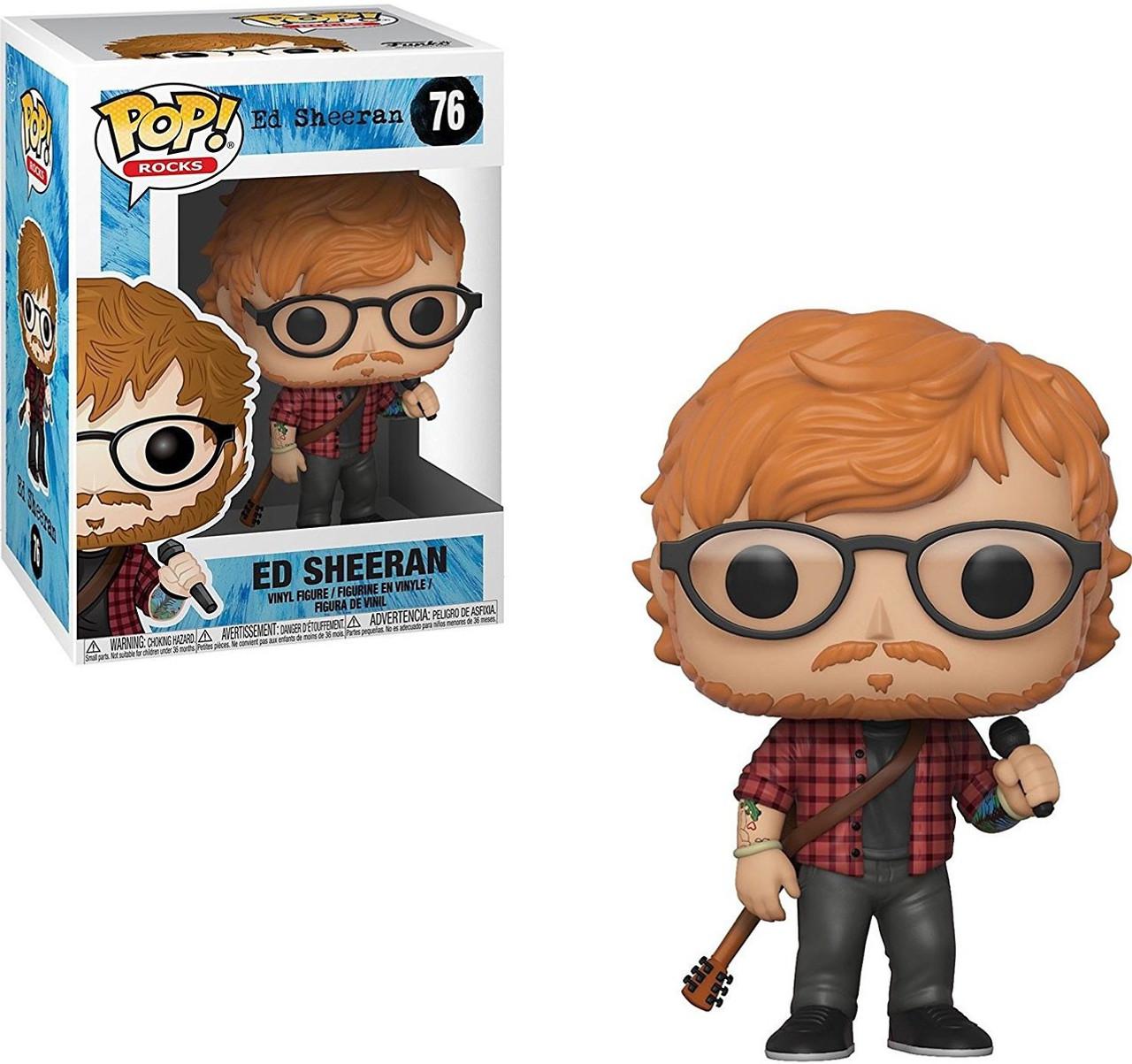 Funko Ed Sheeran Funko Pop Rocks Ed Sheeran Vinyl Figure