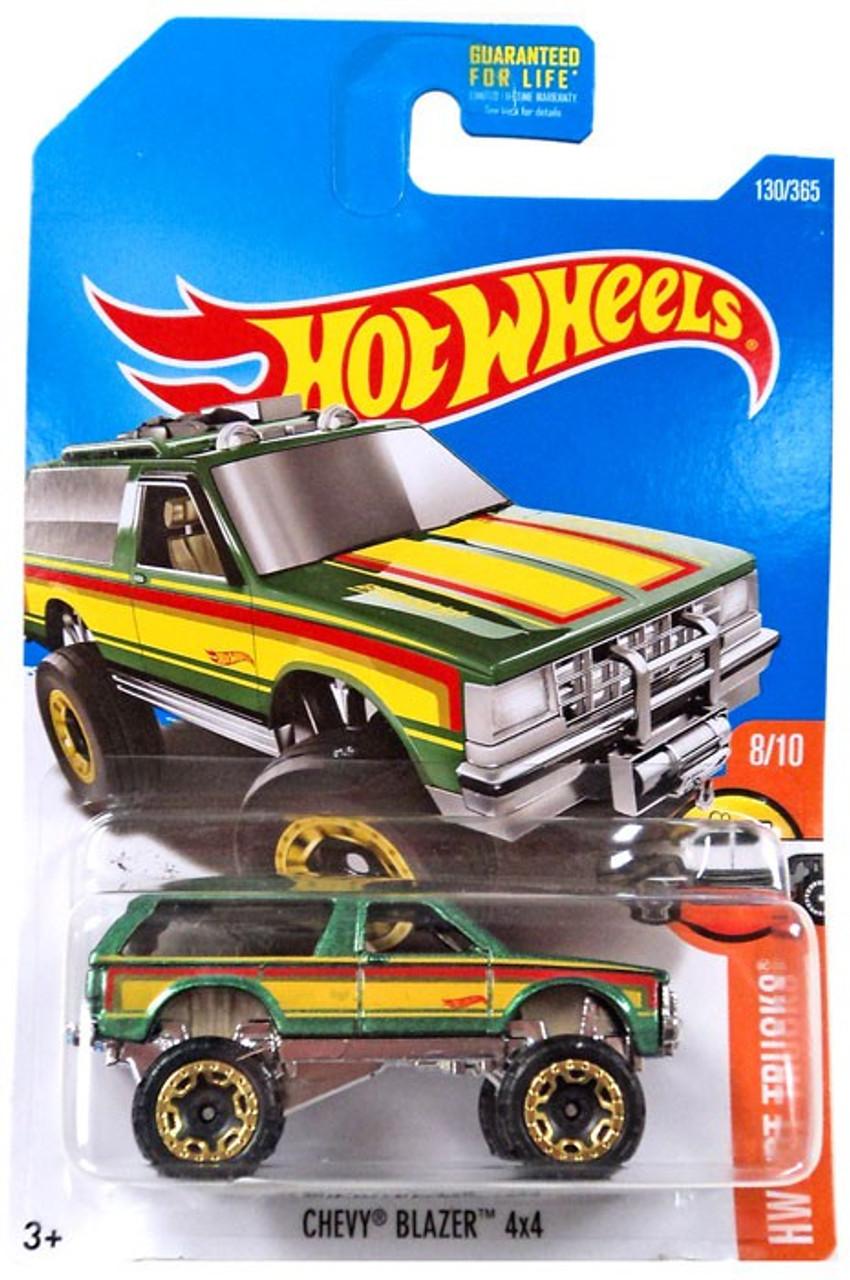 Hot Wheels Hw Hot Trucks Chevy Blazer 4x4 164 Diecast Car Dvb66 810 Mattel Toys Toywiz