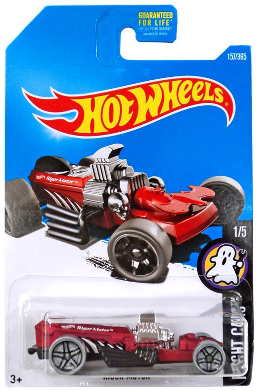 2014 Hot Wheels Halloween Fright Cars #4 Rigor Motor