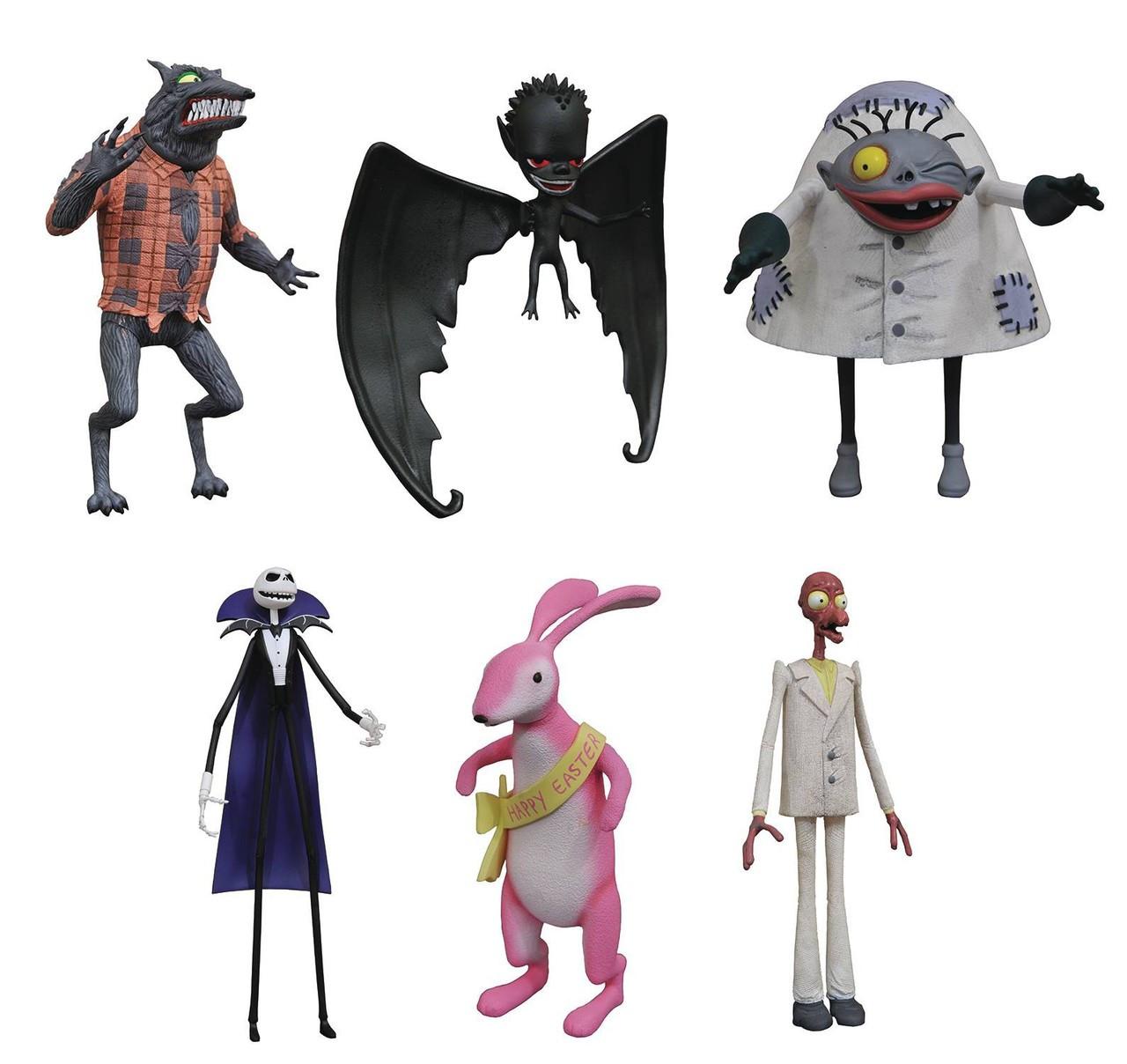Nightmare Before Christmas Select Series 5 Easter Bunny Wolfman