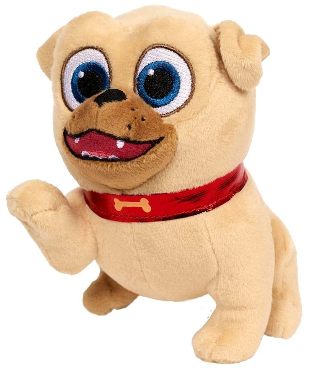 45a124e523f58 Disney Junior Puppy Dog Pals Rolly 6 Plush 6 Just Play - ToyWiz
