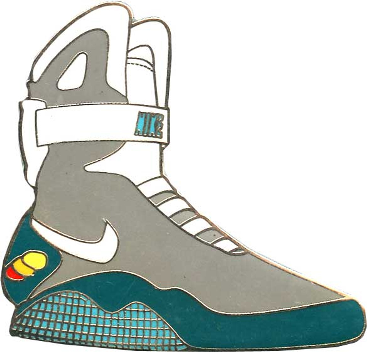 best website 9d50e cad5b Back to the Future Nike Air Mag Pin - ToyWiz