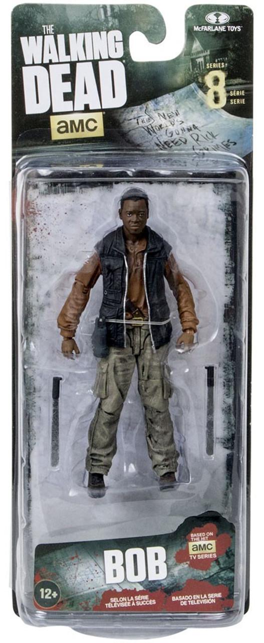 McFarlane Toys The Walking Dead AMC TV Series 8 Bob Stookey Action Figure  [Damaged Package]