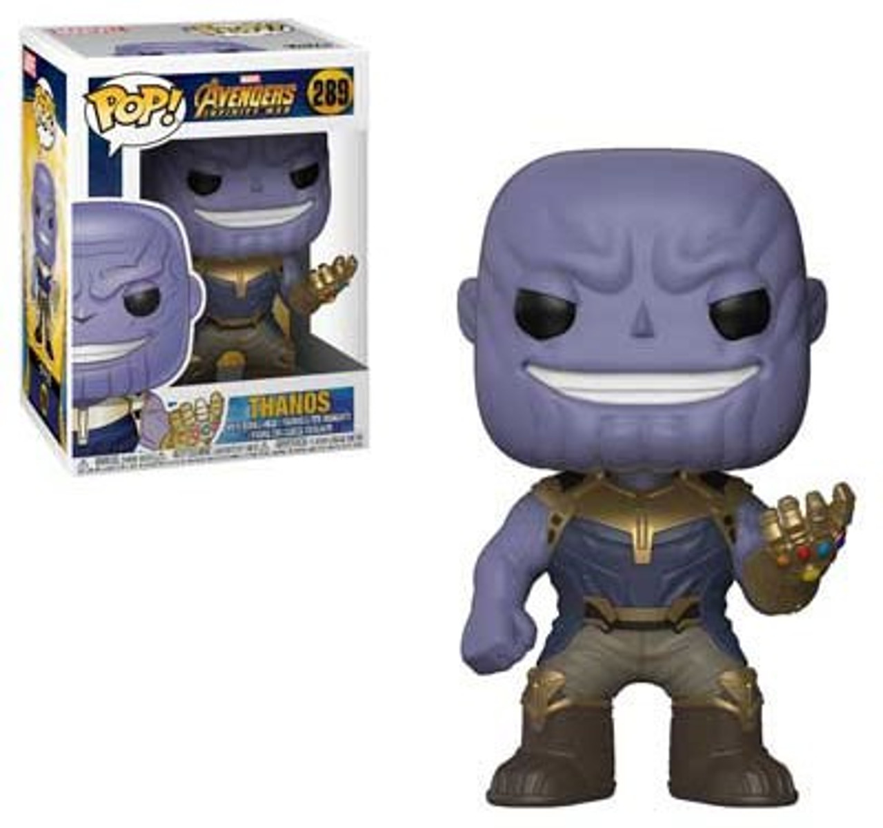 ee46a5b02fe Funko Marvel Universe Avengers Infinity War Funko POP Marvel Thanos Vinyl  Figure 289 Regular Version - ToyWiz
