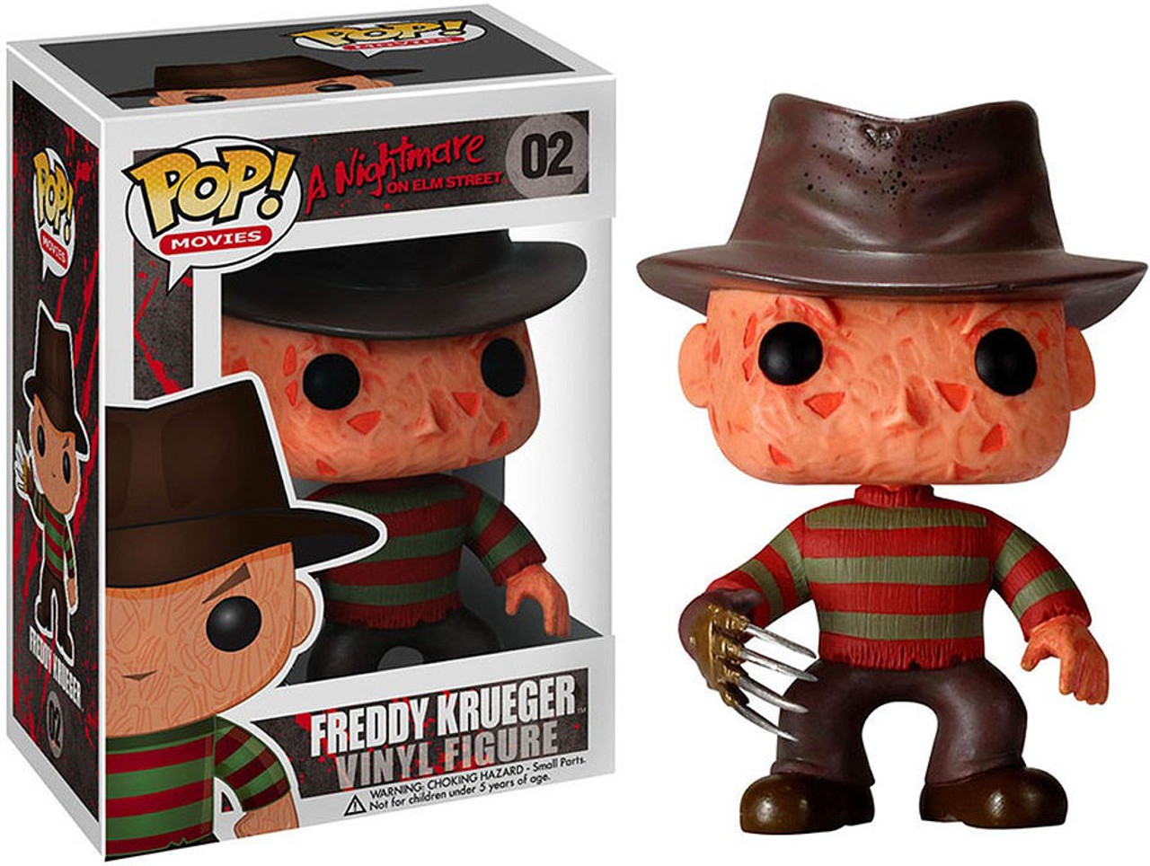 Funko Movies Vinyl Figure n° 02 A Nightmare On Elm Street Freddy Krueger Pop