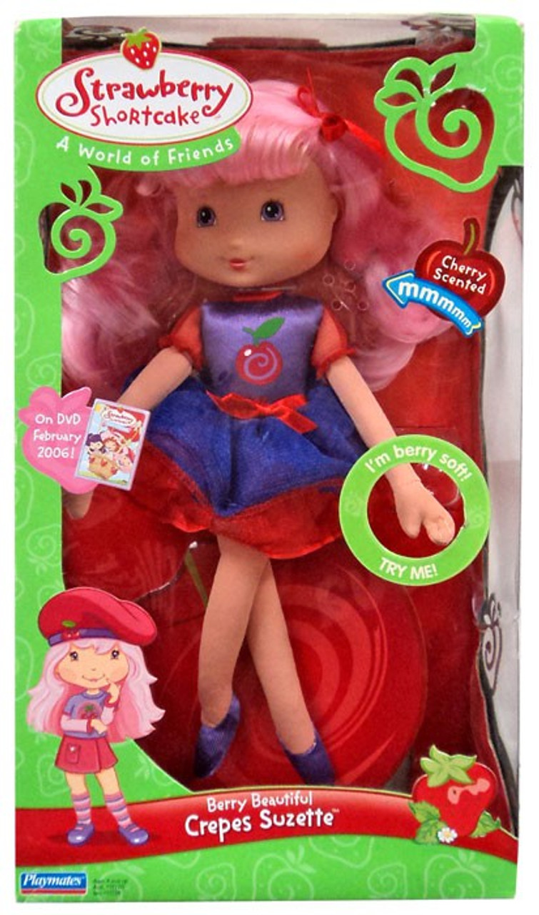 af386eea80a Strawberry Shortcake Berry Beautiful Surprise Crepes Suzette 12 Plush Doll  Playmates - ToyWiz