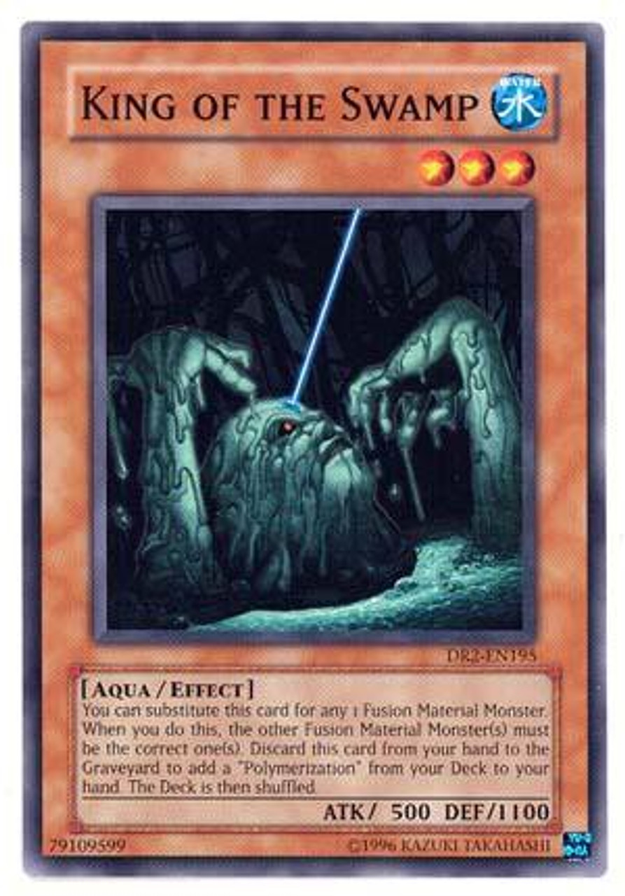 Common Yugioh King of the Swamp LCYW-DR-ANY SET