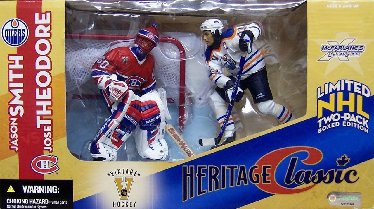McFarlane Toys NHL Edmonton Oilers Montreal Canadiens Sports Picks Jason  Smith Jose Theodore Action Figure 2-Pack - ToyWiz c3fd2c151