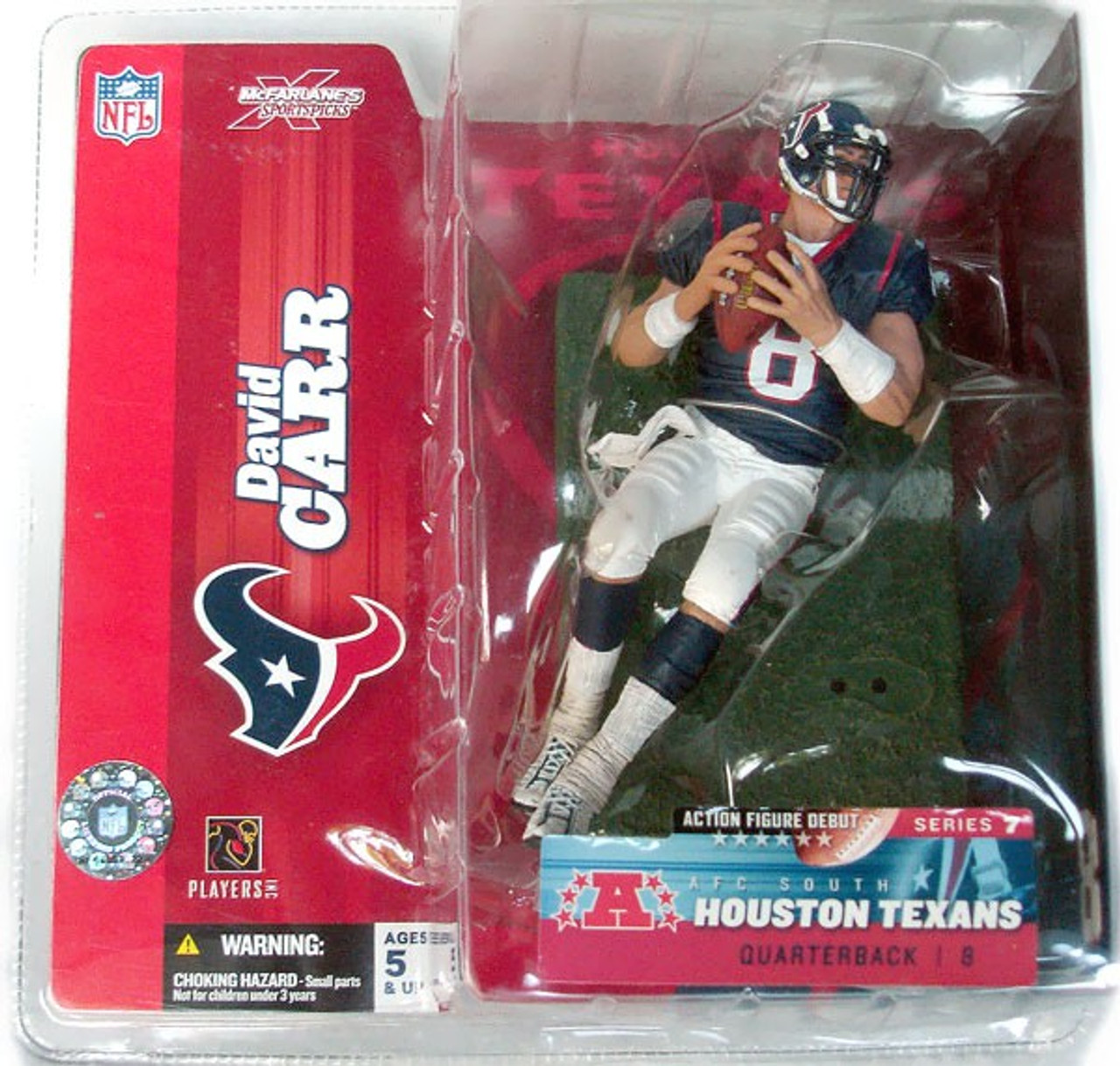 huge selection of 0f7cc 36cf9 McFarlane Toys NFL Houston Texans Sports Picks Series 7 ...
